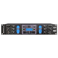 Technical Pro 2U Rack Mount 2 Channel Mixer with Mp3 Input and Fog Bar  - DM-S200 / DMS200 - IN STOCK