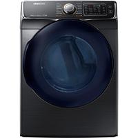 Samsung DV45K6500EV 7.5 Cu. Ft. Electric Black Stainless Steam Dryer - DV45K6500EV - IN STOCK