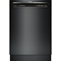 Bosch 300 Series SHE53TL6UC 15 Place Setting Recessed Handle Dishwasher - SHE53TL6UC - IN STOCK