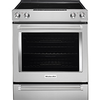 Whirlpool KSEG700ESS 6.4 Cu. Ft. 5 Element Stainless Slide-in Range - KSEG700ESS - IN STOCK