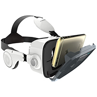 Hyper Virtual Reality Smartphone Headset w/ Integrated Headphones - HYPERVRZ4 - IN STOCK