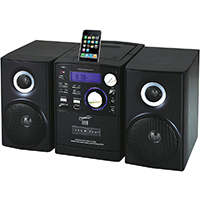 Supersonic Portable MP3/CD Audio System w/ iPod Dock - SC-805 / SC805 - IN STOCK