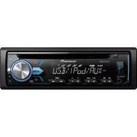 Pioneer DEHX2900 Single-Din In-Dash CD Receiver - DEH-X2900UI / DEHX2900 - IN STOCK
