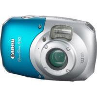 Canon PowerShot 12.1 Megapixel Waterproof Digital Camera (Blue) - 3508B001 / D10 - IN STOCK