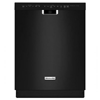 Kitchen Aid KDFE204EBL 14 Place Setting Black Top Control DIshwasher - KDFE204EBL - IN STOCK