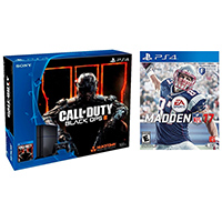 Sony PlayStation 4 500 GB Game Console w/ Call of Duty: Black Ops III, Madden NFL 17 - PS4NFL - IN STOCK