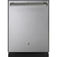 G.E. Cafe CDT865SSJSS 16 Place Setting Stainless Hidden Control Dishwasher - CDT865SSJSS - IN STOCK