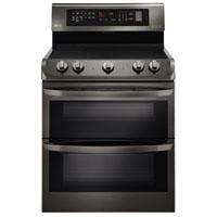 LG LDE4413BD 4.3 Cu.Ft. Stainless 5 Burner Double Oven Range - LDE4413BD - IN STOCK