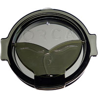 ORCA Coolers ORCCHAFLIPGR Whale Tail Grey Flip Top Chaser Lid - ORCCHAFLIPGR - IN STOCK