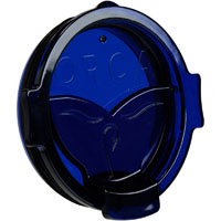 ORCA Coolers ORCCHAFLIPBL Whale Tail Blue Flip Top Chaser Lid - ORCCHAFLIPBL - IN STOCK