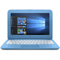 HP S11Y010NR Stream 11.6 in. Intel Celeron N3060, 4GB RAM, 32GB eMMC, Aqua Blue Windows 10 Laptop - S11Y010NR - IN STOCK