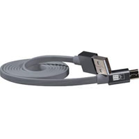 Case Logic CLMPCA105ML Tangle Free Micro Cable - Gray - CL-MP-CA-105-ML / CLMPCA105ML - IN STOCK