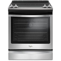 Whirlpool WEE745H0FS 6.4 cu. ft. Stainless Steel True Convection Electric Range - WEE745H0FS - IN STOCK