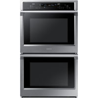 Samsung NV51K6650DS 29 in. Stainless Steel Double Convection Wall Oven - NV51K6650DS - IN STOCK