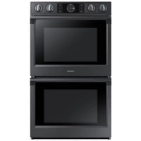 Samsung NV51K7770DG 5.1 cu. ft. Black Stainless Convection Double Wall Oven - NV51K7770DG - IN STOCK