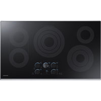 Samsung NZ36K7570RS 36 in. Stainless 5 Burner Electric Cooktop - NZ36K7570RS - IN STOCK