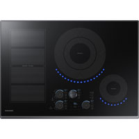 Samsung NZ30K7880UG 30 in. Black Stainless 5 Element Induction Electric Cooktop - NZ30K7880UG - IN STOCK