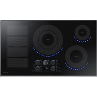 Samsung NZ36K7880US 36 in. Stainless 5 Element Induction Electric Cooktop - NZ36K7880US - IN STOCK