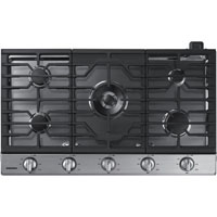 Samsung NA36K6550TS 36 in. Stainless 5 Burner Gas Cooktop - NA36K6550TS - IN STOCK