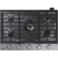 Samsung NA30K7750TS 30 in. Stainless 5 Burner Gas Cooktop - NA30K7750TS - IN STOCK