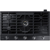 Samsung NA36K7750TG 36 in. Black Stainless 5 Burner Gas Cooktop - NA36K7750TG - IN STOCK