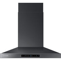 Samsung NK30K7000WG 30 in. Black Stainless Wall Mount Chimney Range Hood - NK30K7000WG - IN STOCK