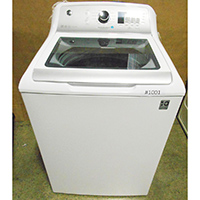 G.E. 4.6 Cu.Ft. White High Efficiency Top Load Washer - Open Box - GTW680BSJWS / GTW680BSJWS-OBX1001 - IN STOCK