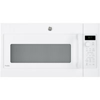 G.E. PVM9179DKWW Profile 1.7 Cu. Ft. 950W White Over-the-Range Microwave Oven - PVM9179DKWW - IN STOCK