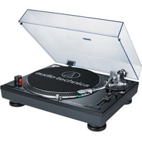 Audio Technica ATLP120USBBK Direct Drive Professional Turntable with USB Output - Black - ATLP120USBBK - IN STOCK