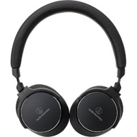Audio Technica ATHSR5BTBLK Wireless On-Ear High-Resolution Audio Headphones - Black - ATH-SR5BT / ATHSR5BTBLK - IN STOCK