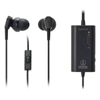 Audio Technica ATHANC33IS QuietPoint Active Noise-Cancelling In-Ear Headphones - ATH-ANC33IS / ATHANC33IS - IN STOCK