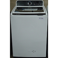 Samsung 4.8 White High Efficiency Top Load ActiveWash Washer - Open Box - WA48J7700AW-OBX1080 - IN STOCK