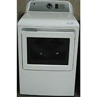G.E. Electric 7.4 Cu.Ft. White High Efficiency Dryer - Open Box - GTD65EBSJWS-OBX1079 - IN STOCK