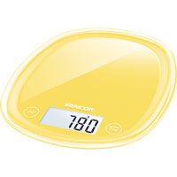 Sencor SKS36YL Kitchen Scale - Yellow - SKS36YL - IN STOCK