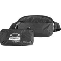 TUCANO BPCOWBLK Compatto ExtraLight Packable Waist Bag - Black - BPCOWBLK - IN STOCK
