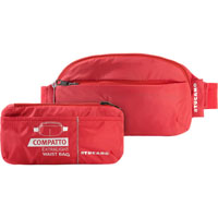 TUCANO BPCOWBRED Compatto ExtraLight Packable Waist Bag - Red - BPCOWBRED - IN STOCK