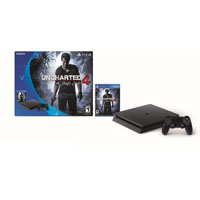 Sony Play Station 4 Slim 500GB w/ Uncharted 4 Bundle - PS4SLMUNCHAR - IN STOCK