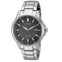 CITIZEN AW149050E Mens Titanium Quartz Eco-Drive Watch - AW1490-50E / AW149050E - IN STOCK