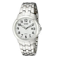 CITIZEN AW702051A Mens Classic Eco-Drive Stainless Steel Watch - AW7020-51A / AW702051A - IN STOCK