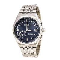 CITIZEN CC302057L Satellite Wave Mens Eco-Drive Stainless Steel Watch - CC3020-57L / CC302057L - IN STOCK