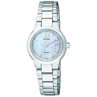 CITIZEN EW167059D Silhouette Womens Eco-Drive Stainless Steel Watch - EW1670-59D / EW167059D - IN STOCK