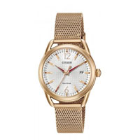 CITIZEN FE608372A Womens Eco-Drive Rose-Gold Tone Stainless Steel Watch - FE6083-72A / FE608372A - IN STOCK