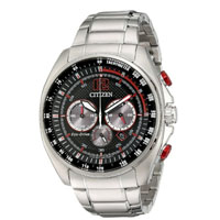 CITIZEN CA419054E Mens Eco-Drive WDR Stainless Steel Watch - CA4190-54E / CA419054E - IN STOCK