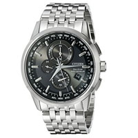 CITIZEN AT811053E Mens Eco-Drive Stainless Steel Chronograph Watch  - AT8110-53E / AT811053E - IN STOCK