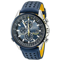 CITIZEN AT802003L Mens Blue Angels World Eco-Drive Watch - AT8020-03L / AT802003L - IN STOCK