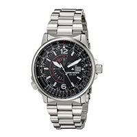 CITIZEN BJ700052E Nighthawk Mens Eco-Drive Stainless Steel Watch - BJ7000-52E / BJ700052E - IN STOCK