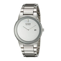 CITIZEN AU106051A Mens Axiom Eco-Drive Stainless Steel Dress Watch - AU1060-51A / AU106051A - IN STOCK