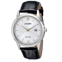 CITIZEN AW123603A Mens Eco-Drive Stainless Steel Watch - AW1236-03A / AW123603A - IN STOCK