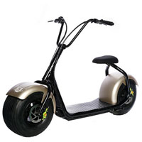 EmioCycle MOTORCYCLE MonsterCycle 60V Motorcycle - Gold/Black - MOTORCYCLE - IN STOCK