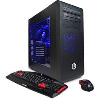CYBERPOWERPC SLC8280 Intel Core i7-6700K, 16GB RAM, 120GB SSD + 2TB HDD Windows 10 Gaming Computer - SLC8280 - IN STOCK
